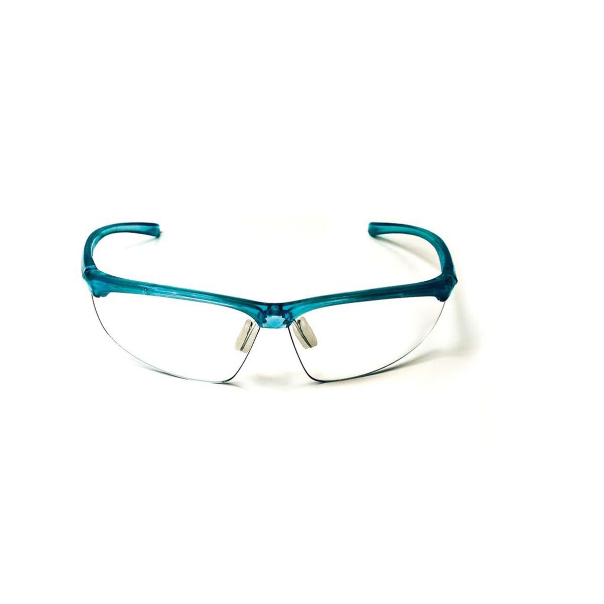 """3Mâ""""¢ Refineâ""""¢ Protective Eyewear 201, 11735-00000-20 Clear Anti-Fog Lens, Teal Frame"""