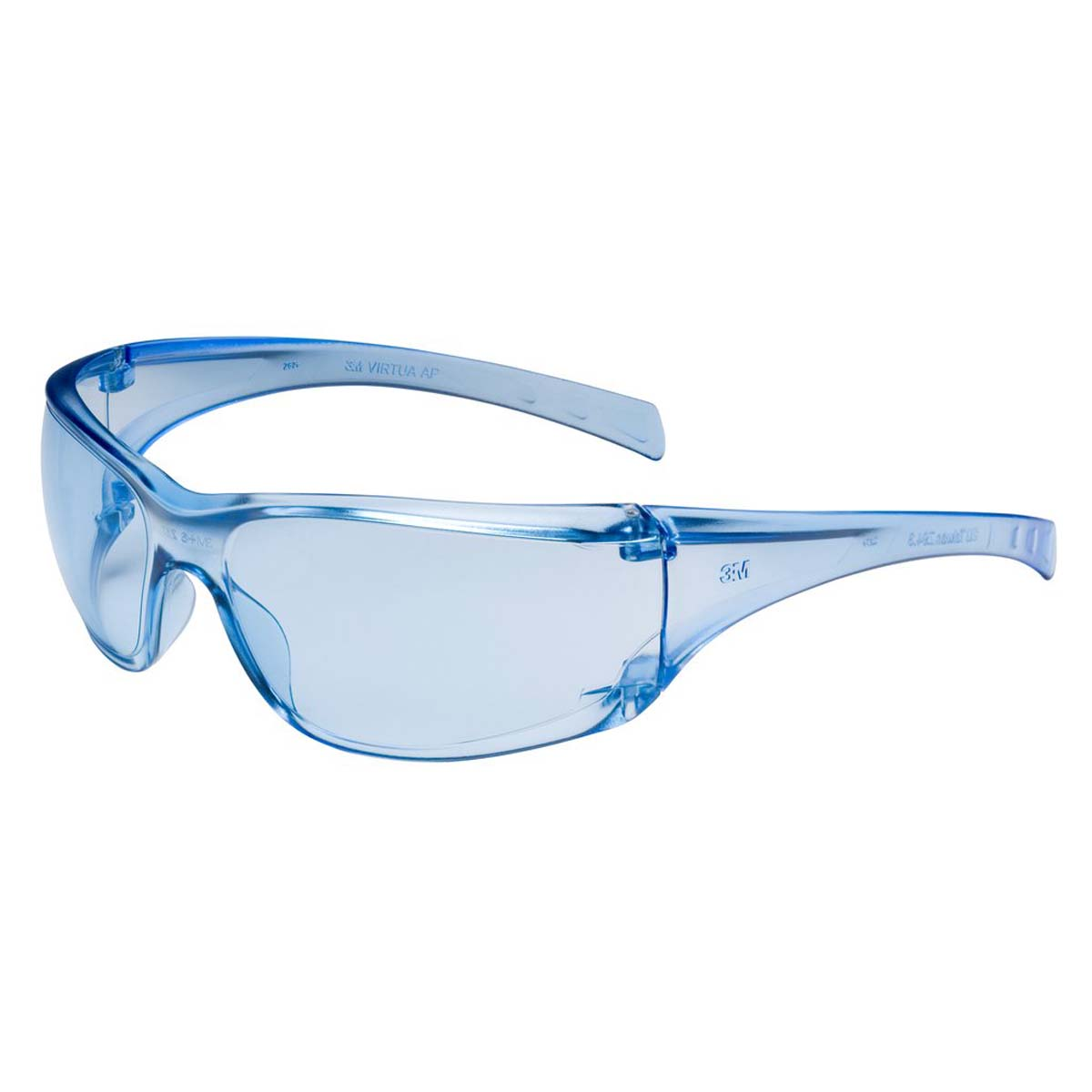 3M Virtua AP Protective Eyewear 11816-00000-20 Light Blue Hard Coat Lens,