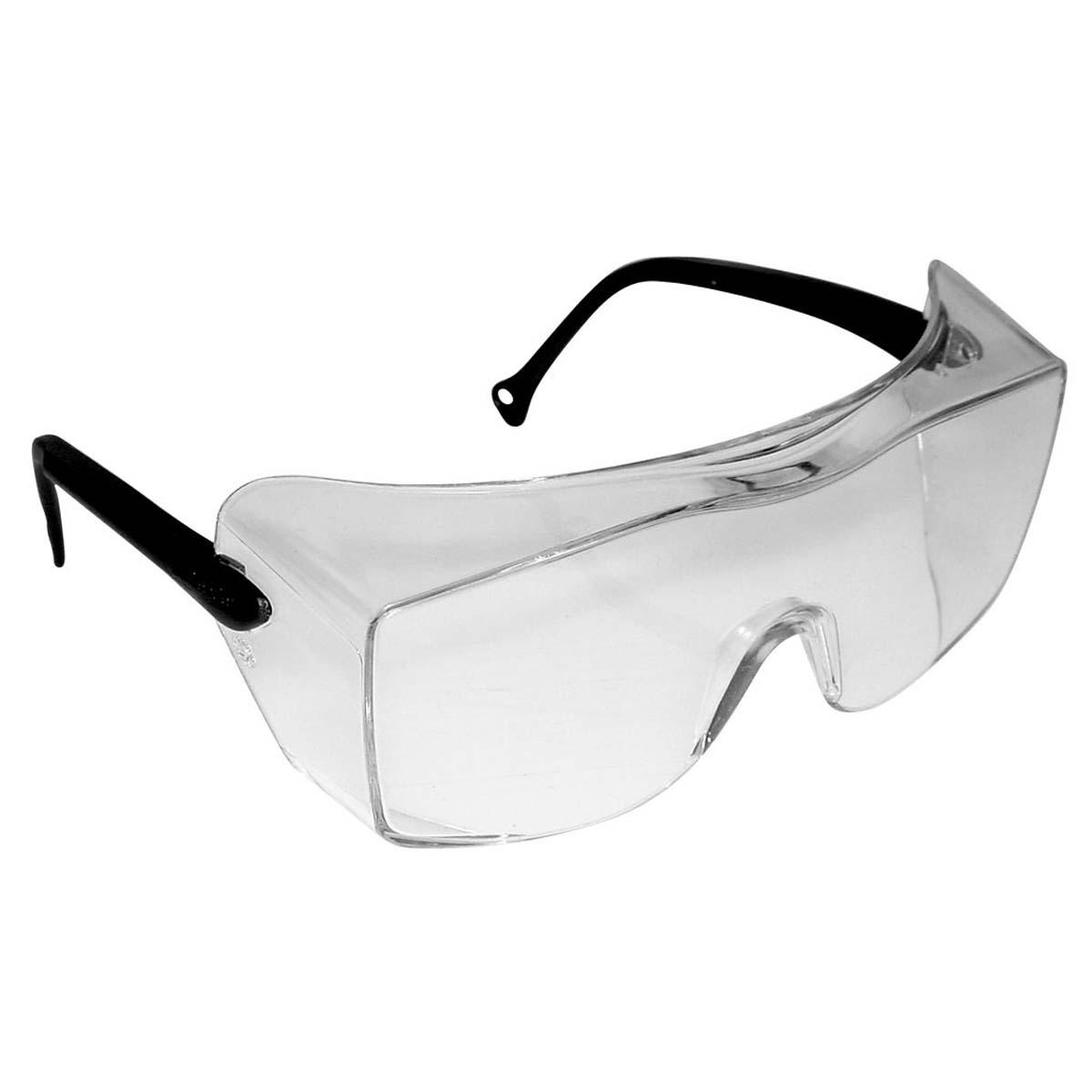"""3Mâ""""¢ OXâ""""¢ Protective Eyewear 12159-00000-20 Clear Lens, Black Temple"""