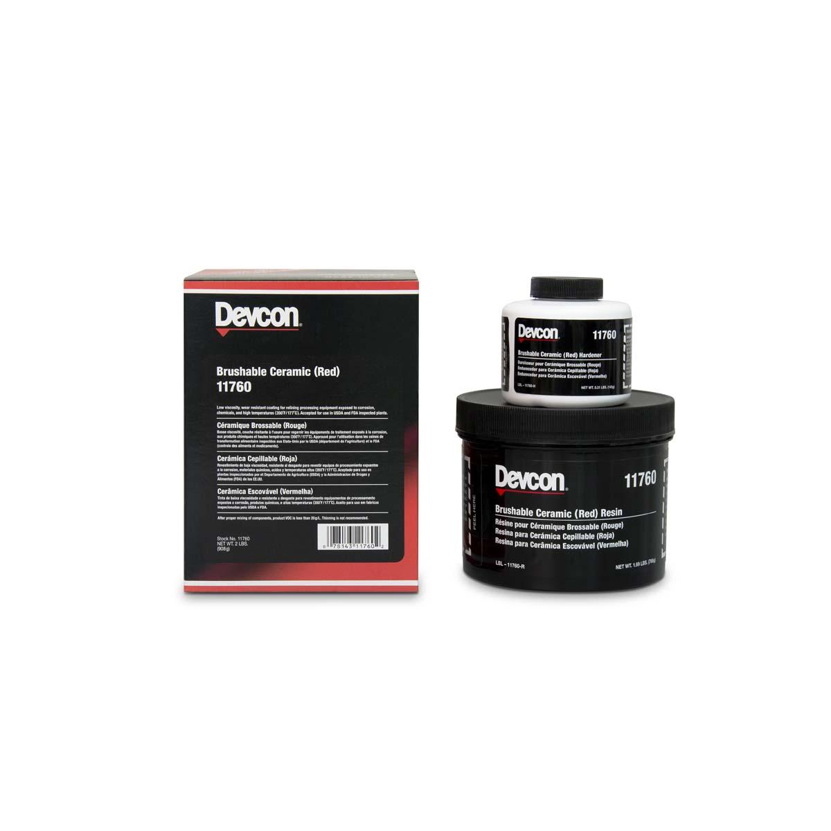 DEVCON® Brushable Ceramic  red - 2 lb  1 Each