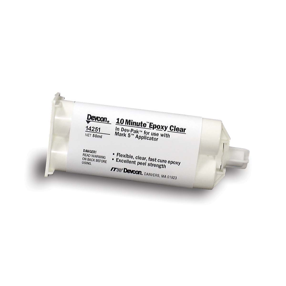 DEVCON® 10 Minute™ Epoxy  clear [1-1] - 50ml  1 Each