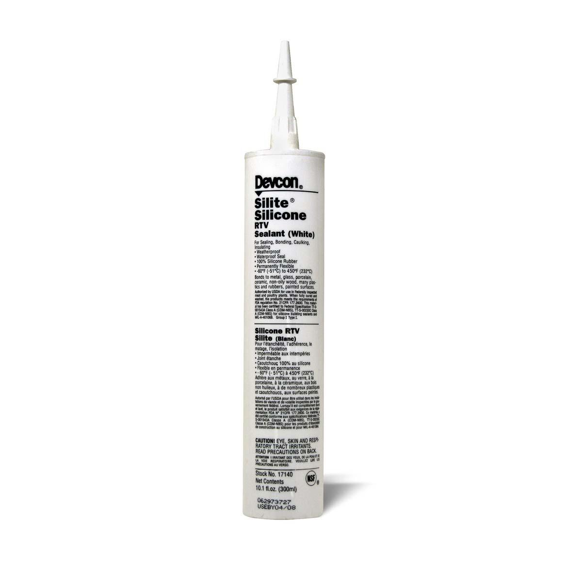 DEVCON® Silite® RTV Silicone* white - 10.3 fl oz  1 Each