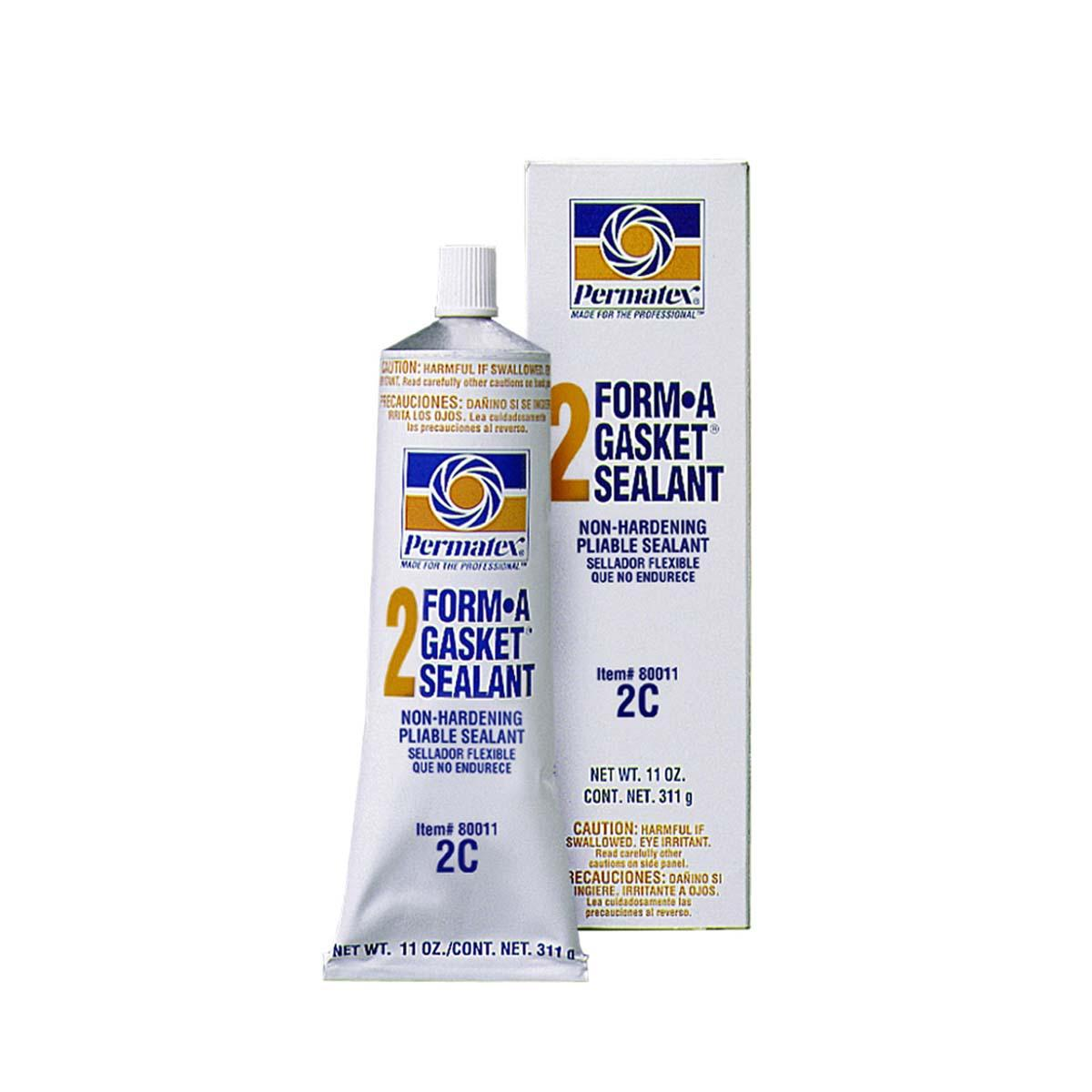PERMATEX® FORM-A-GASKET® #2 Sealant - 11 oz. tube, boxed  1 Each