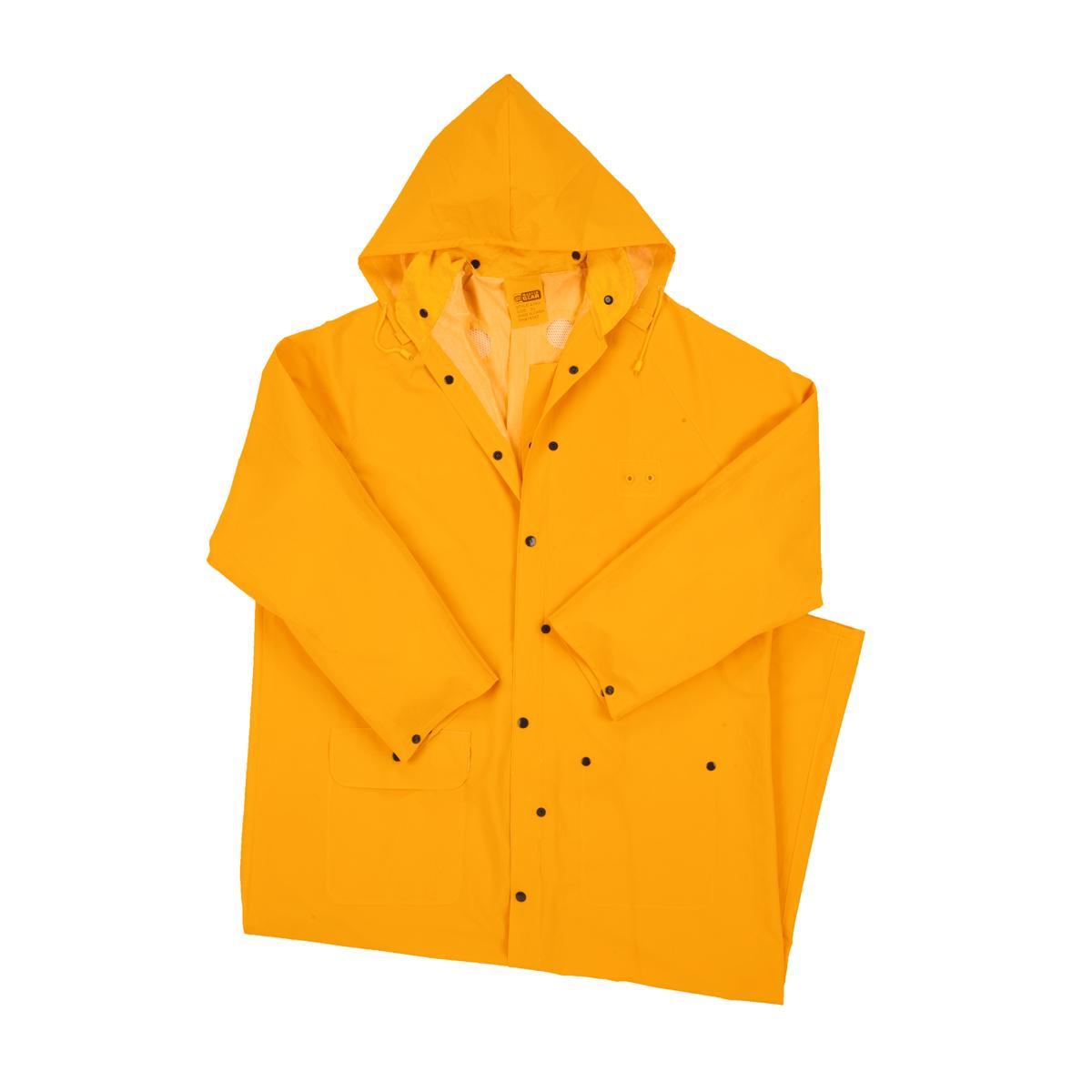 "Rainwear 35ml PVC over Polyester 60"" Rider Coat"