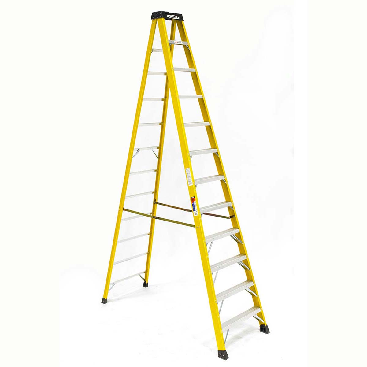 Fiberglass 12 ft Step Ladder