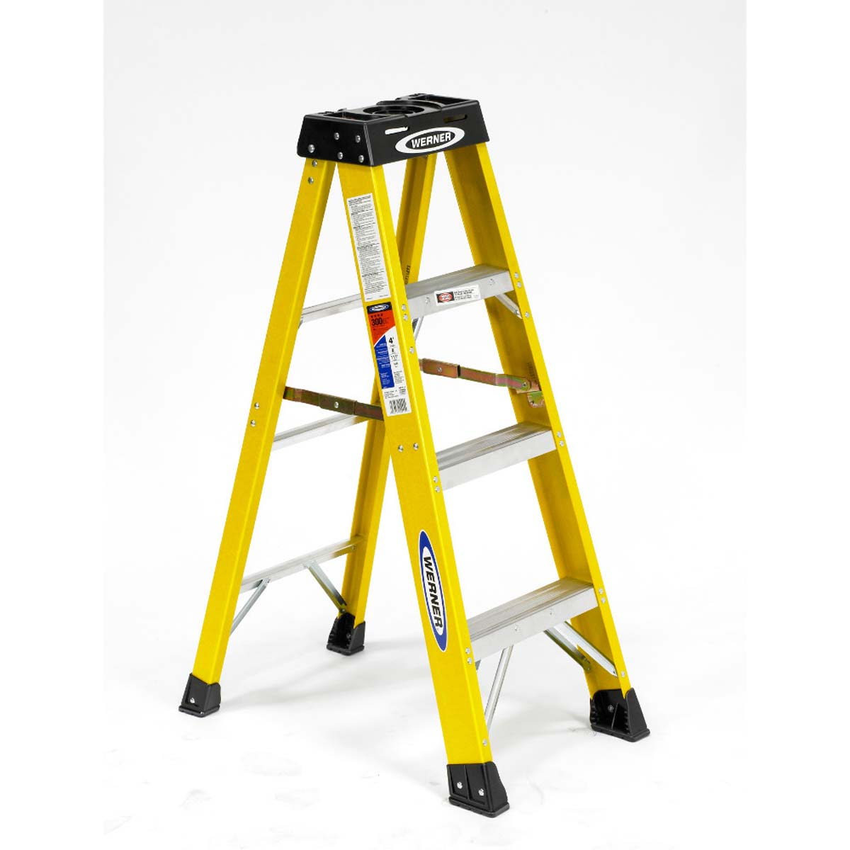 Fiberglass 4 ft Step Ladder  -
