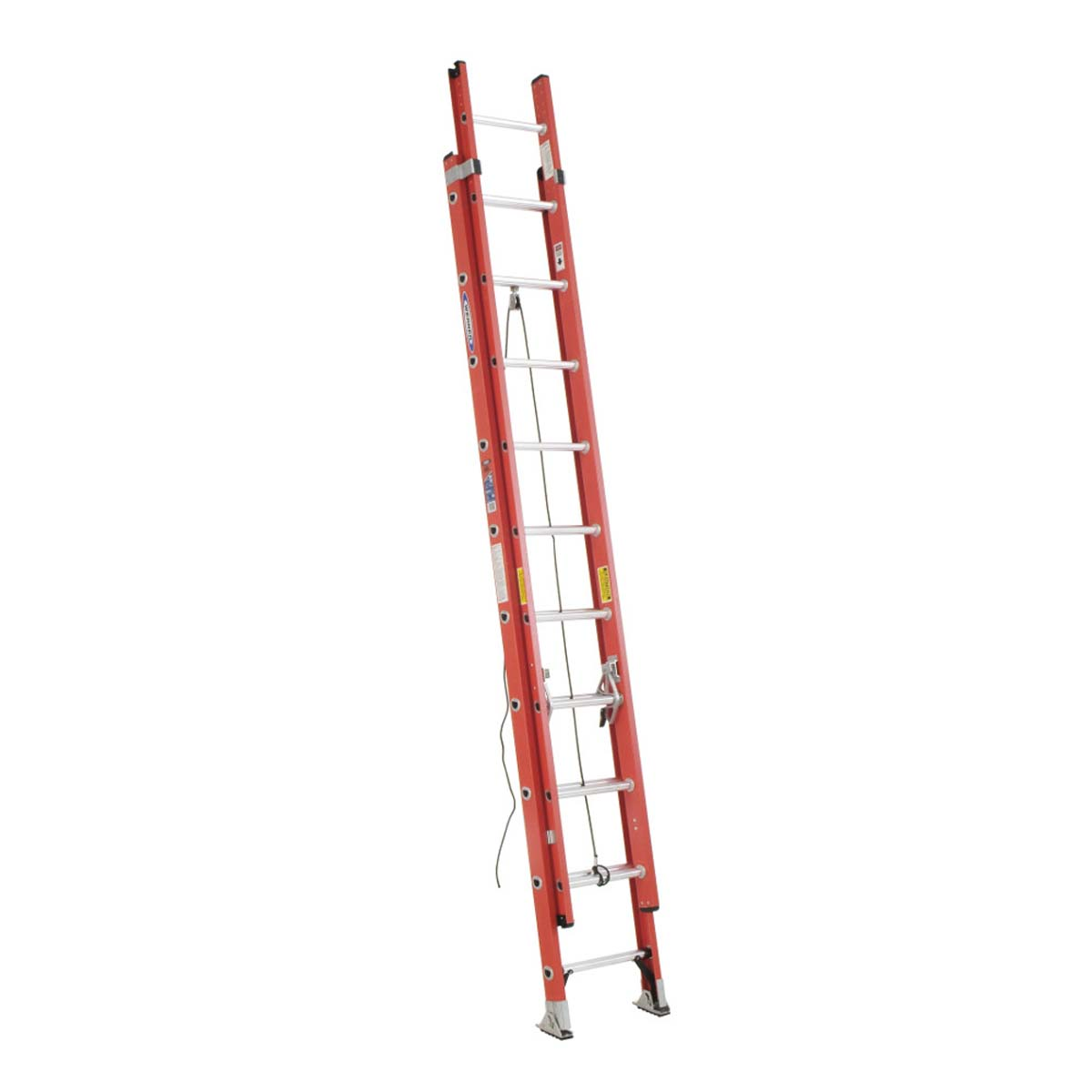 D6220-2 two section fiberglass extension ladder - 20'