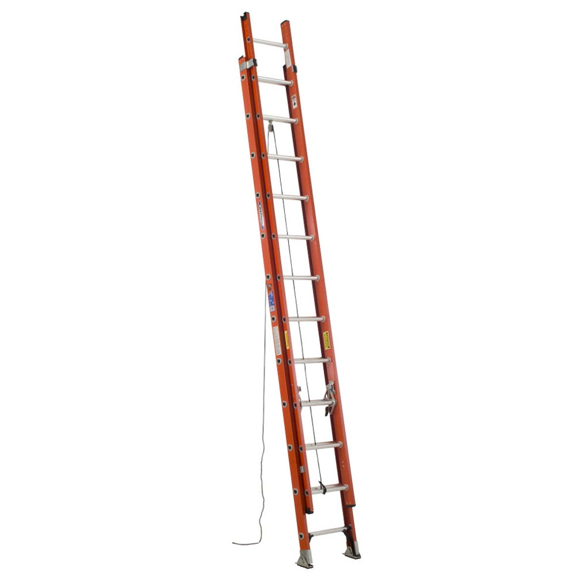 D6224-2 two section fiberglass extension ladder - 24'