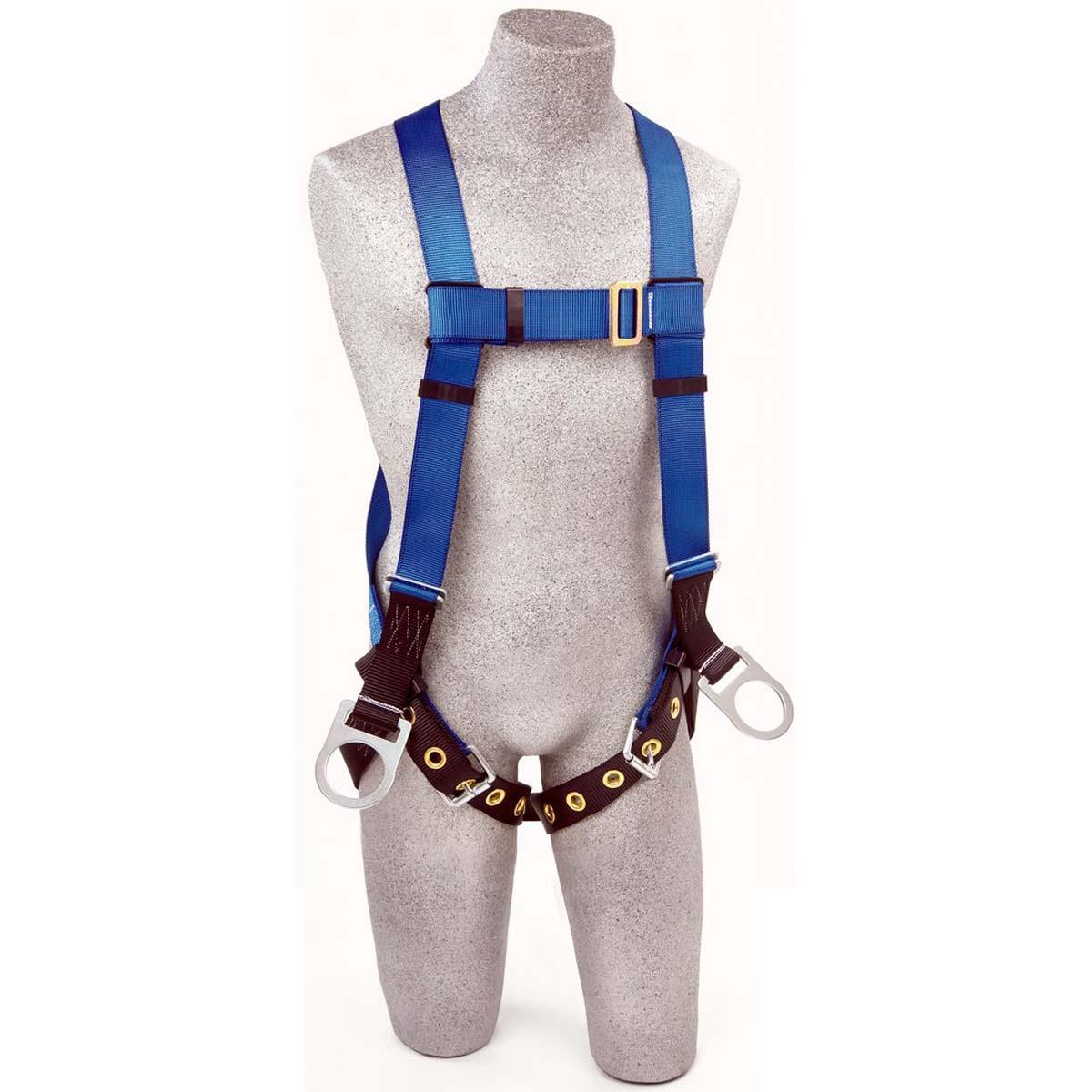 3M PROTECTA Vest-Style Positioning Harness AB17560-XL, Blue, X-Large, 1 EA