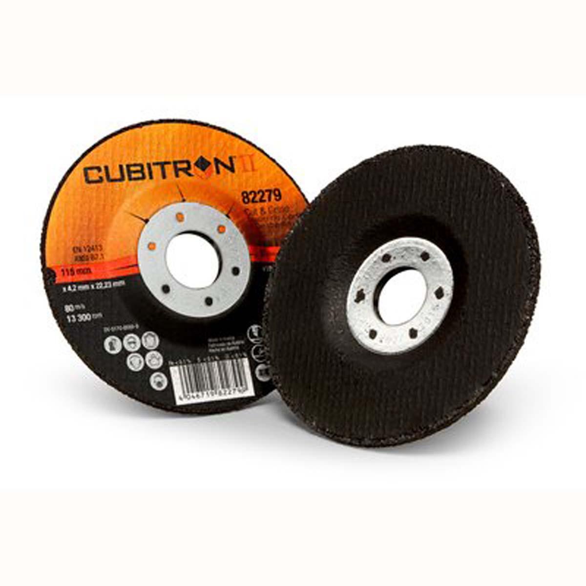 3M Cubitron II Cut and Grind Wheel T27  82279  4 1/2 in x 1/8 in x 7/8 in