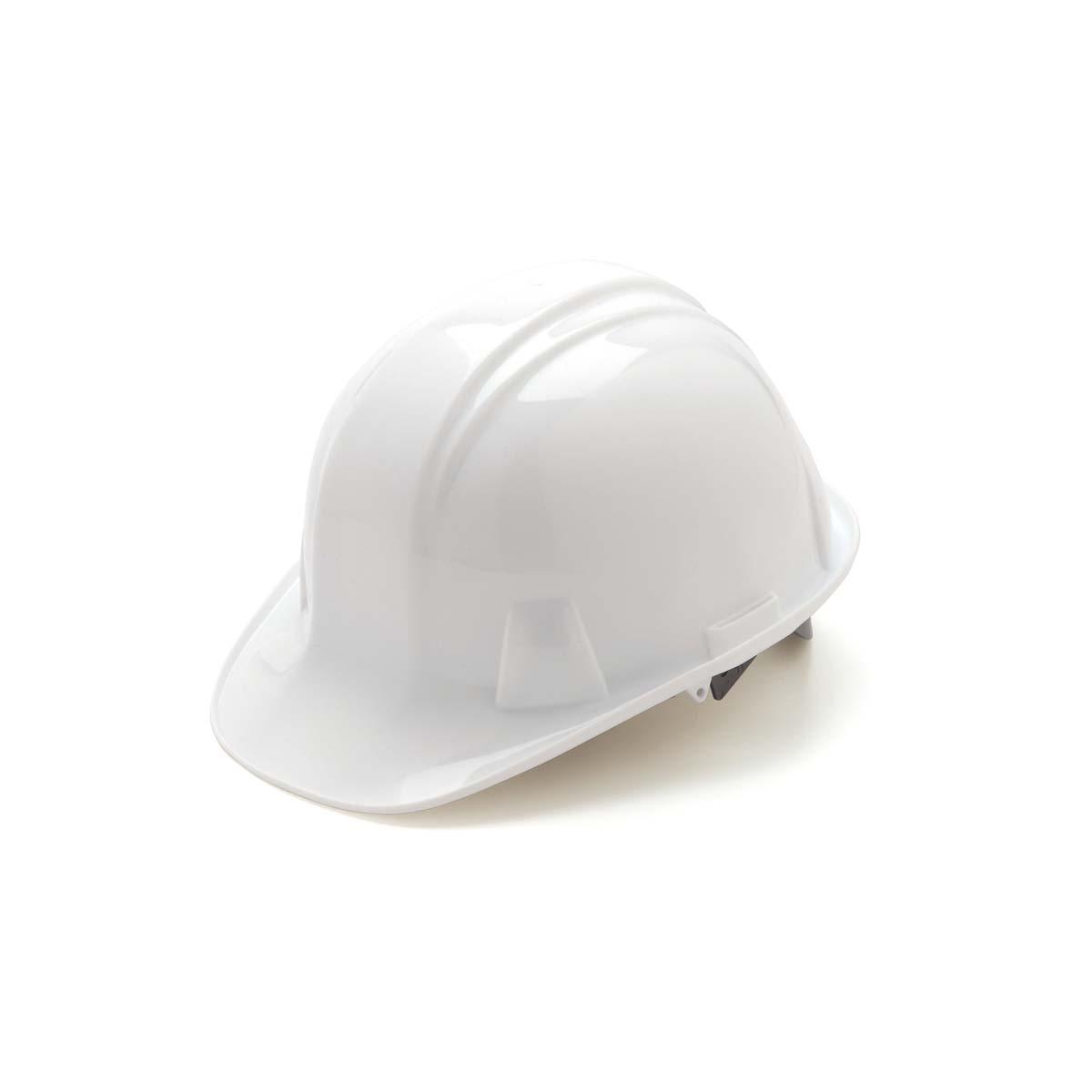 White-Standard Shell 4 Pt Ratchet Suspension
