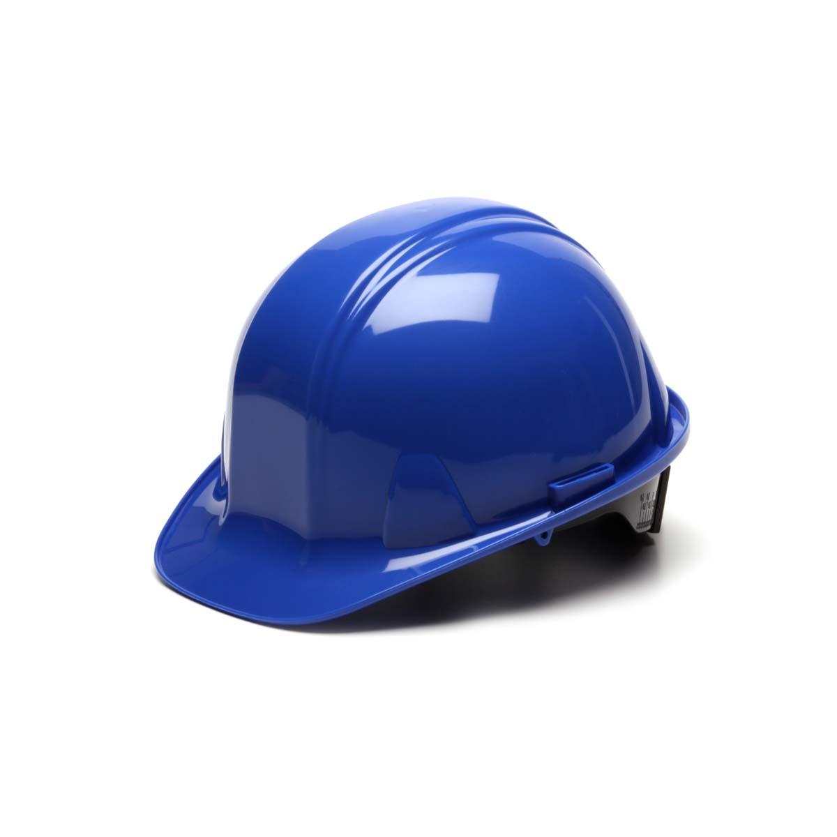 Blue -Standard Shell 4 Pt Ratchet Suspension
