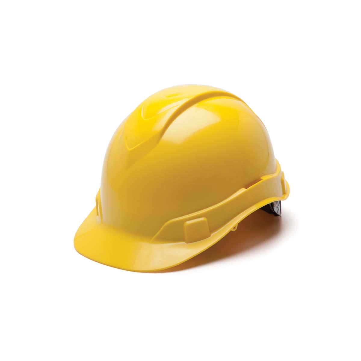 Yellow-Ridgeline Cap Style 4 Pt Ratchet Suspension