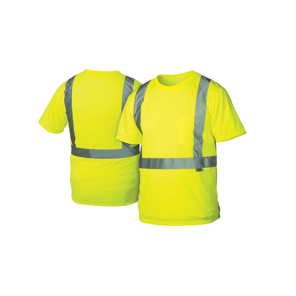 Hi-Vis Lime T-Shirt - Size Large