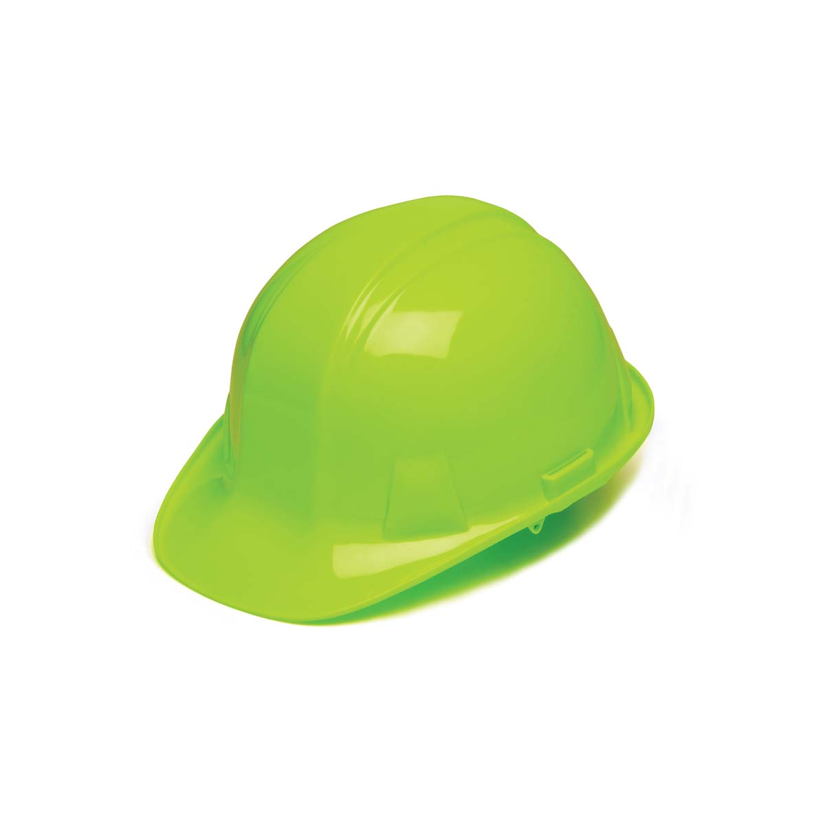 Hi Vis Green-Standard Shell 4 Pt Ratchet Suspension