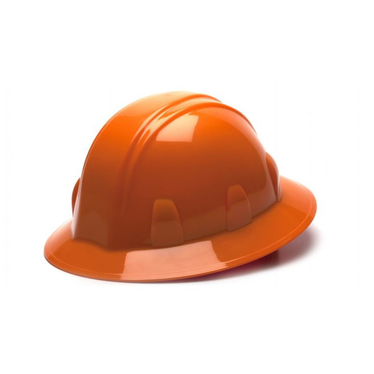 Orange-Full Brim 4 Pt Ratchet Suspension