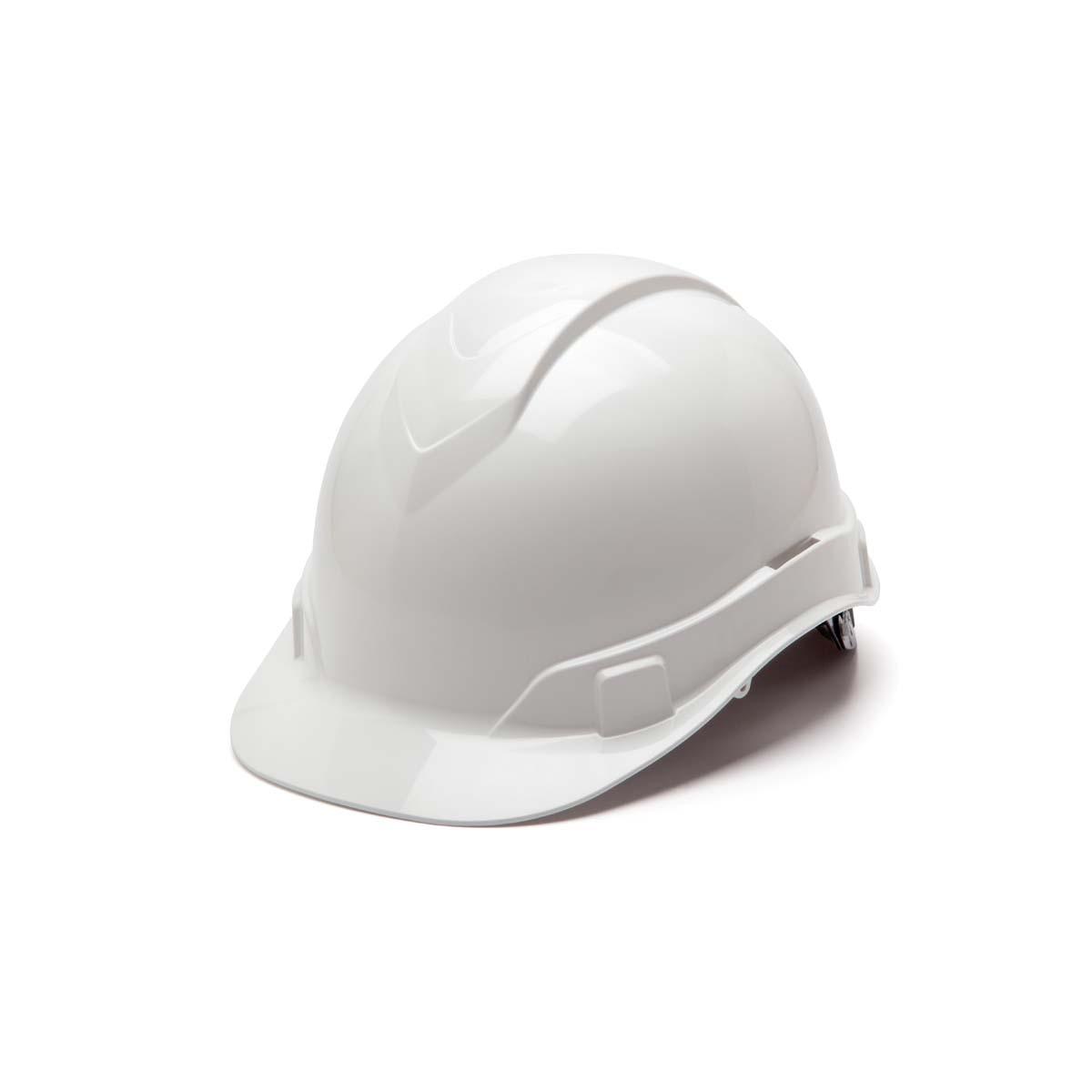 White-Ridgeline Cap Style 4 Pt Ratchet Suspension