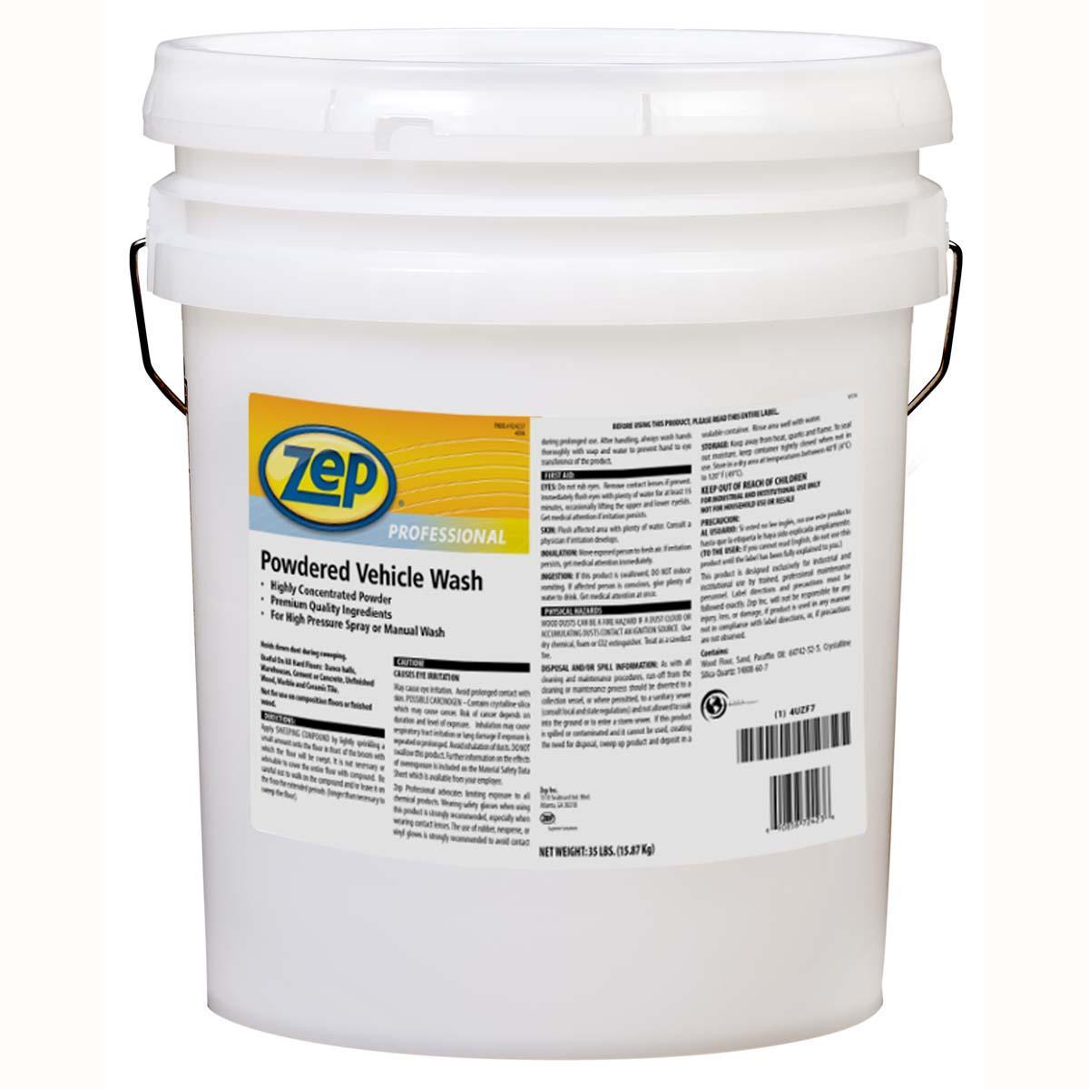 ZEP Powdered Vehicle Wash