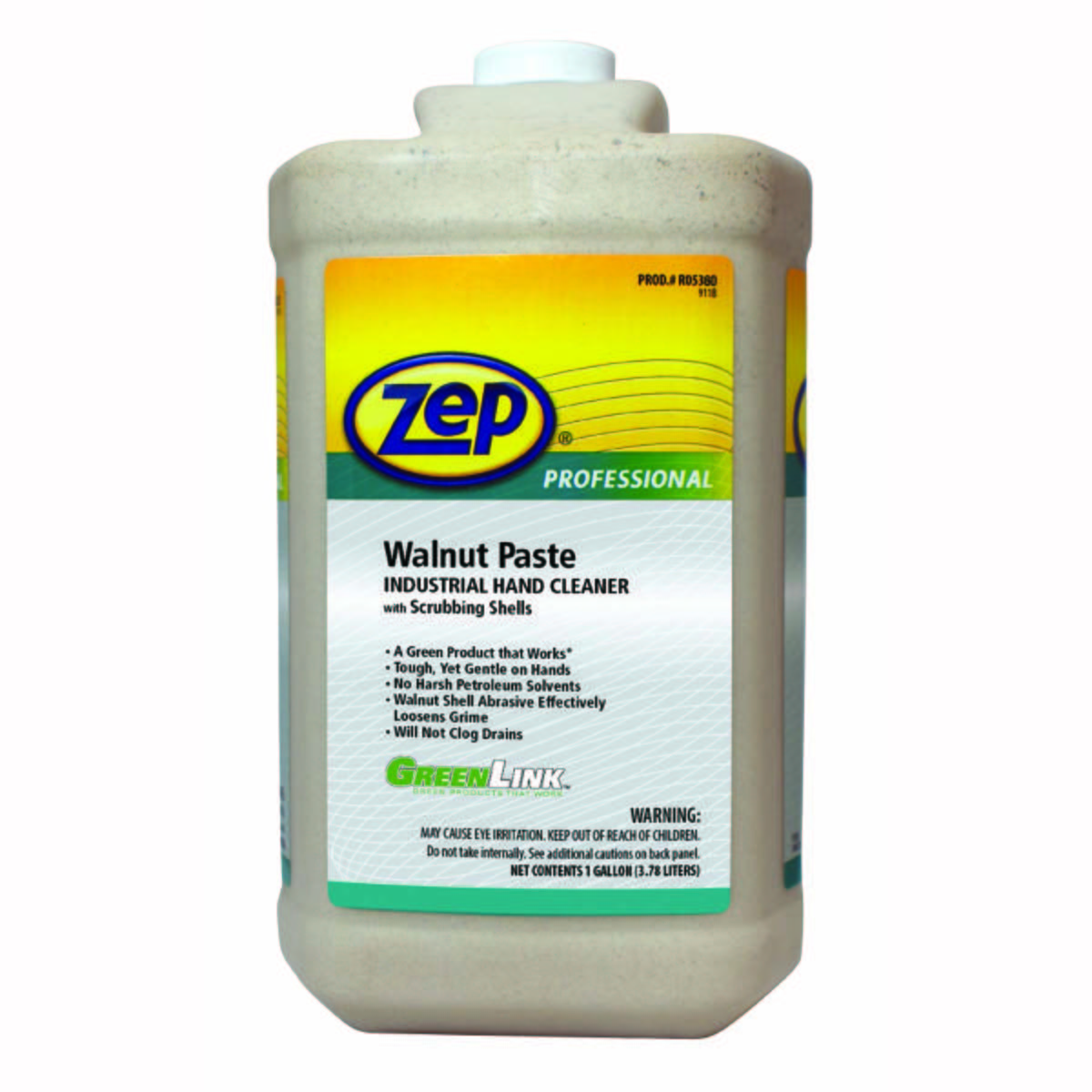 ZEP Walnut Paste Industrial Hand Cleaner With Scrubbing Shells