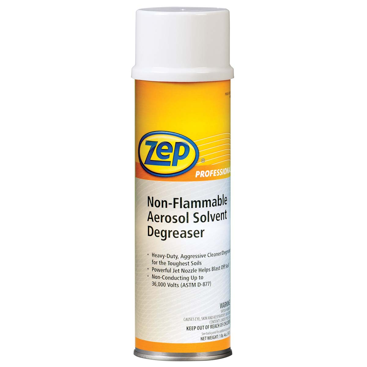 ZEP Non-Flammable Aerosol Solvent Degreaser