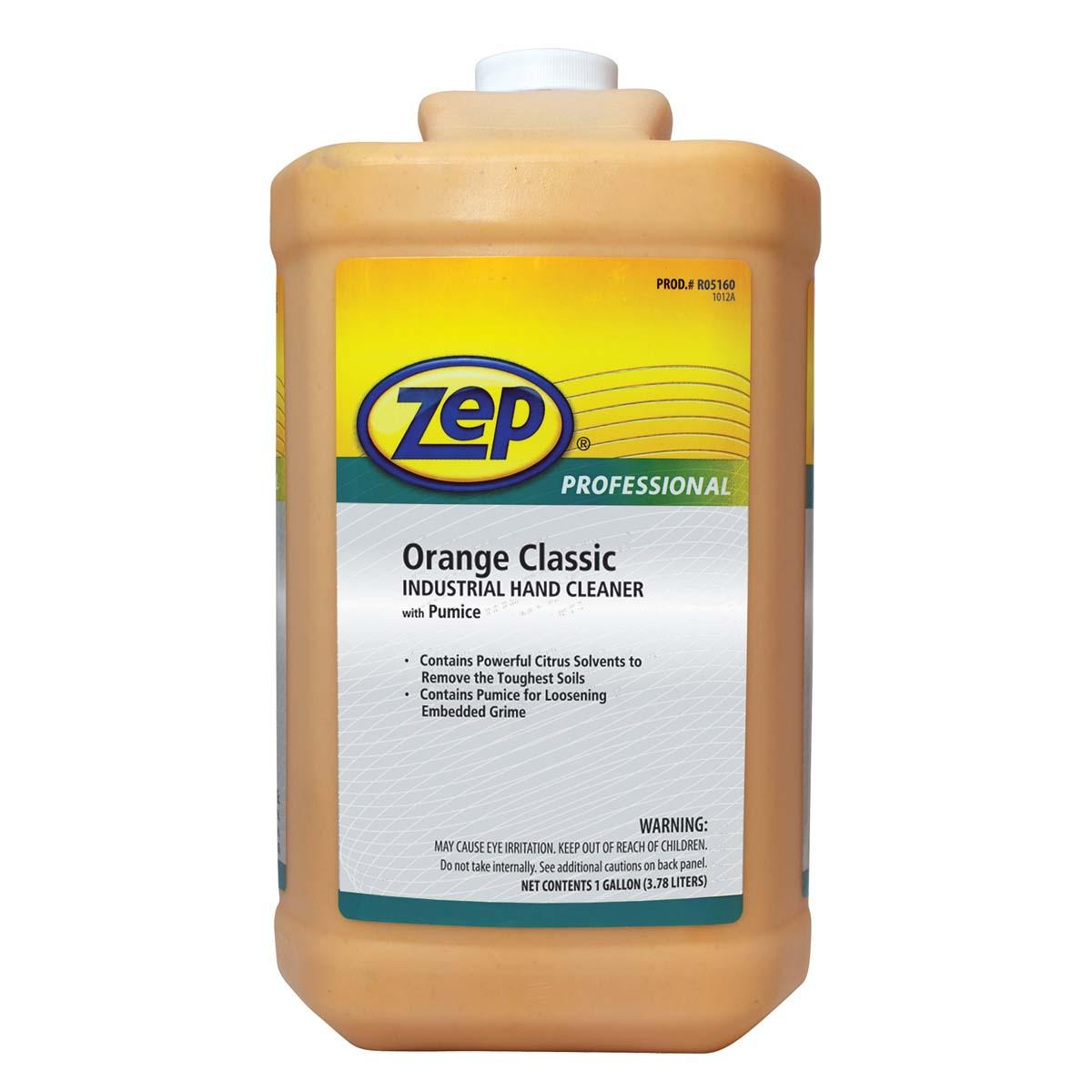 ZEP Orange Classic Industrial Hand Cleaner With Pumice