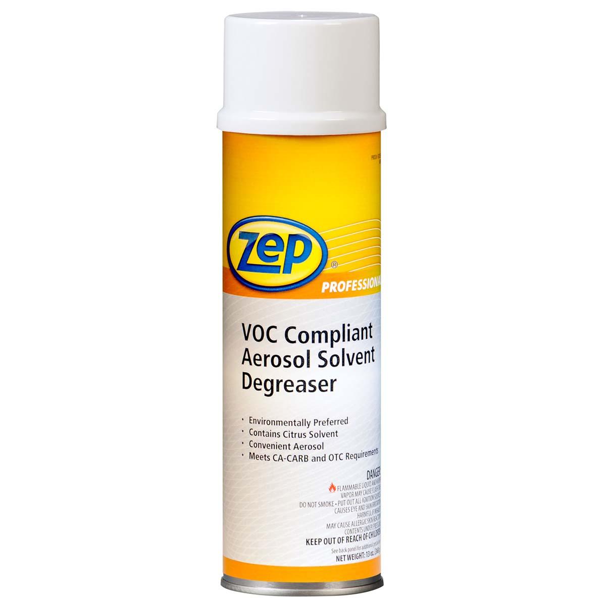 ZEP VOC Compliant Aerosol Solvent Degreaser