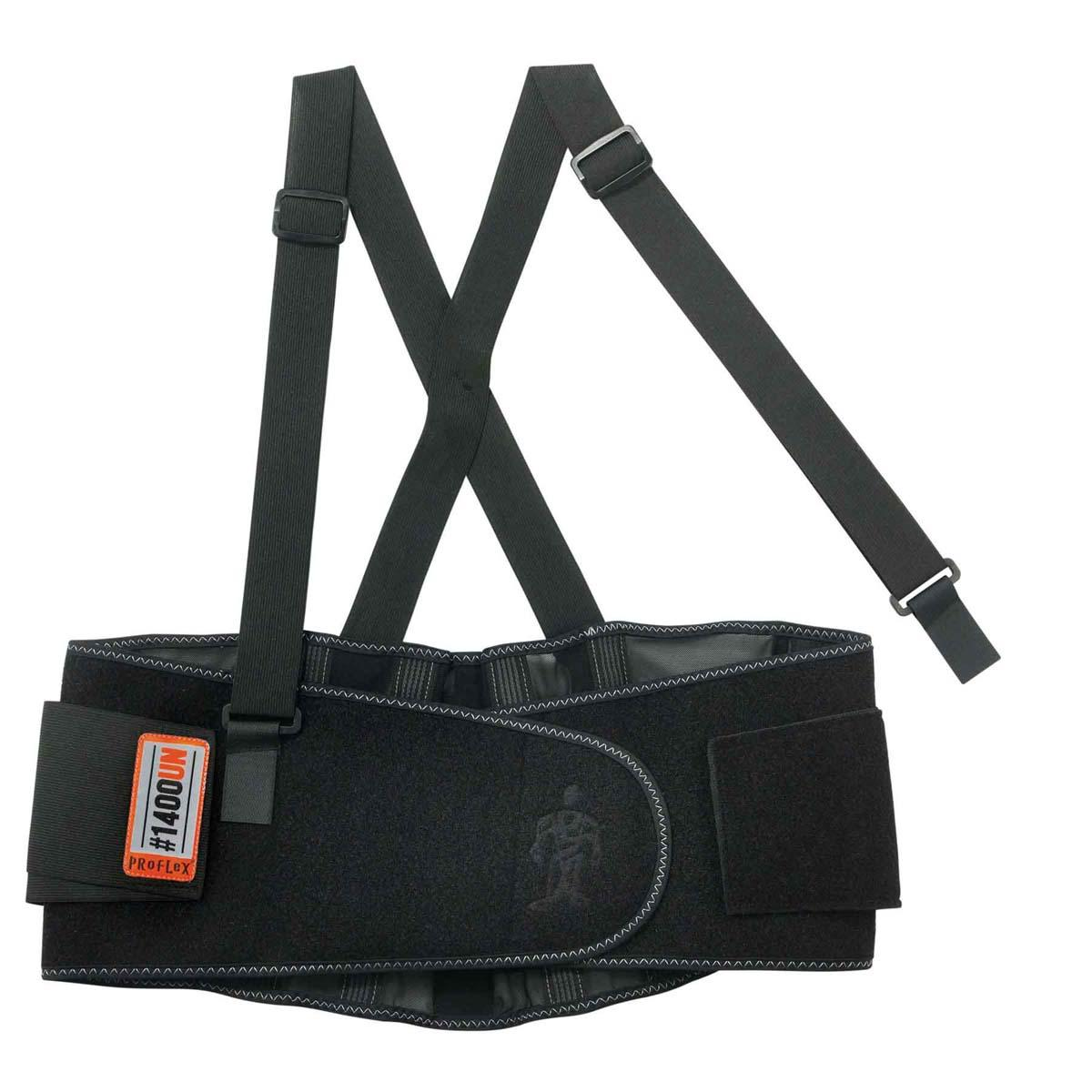 1400UN  Black Universal Size Back Support