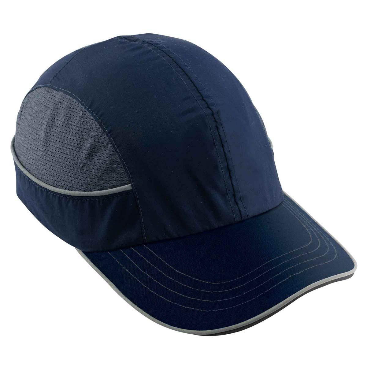 8950 Long Brim Navy Bump Cap