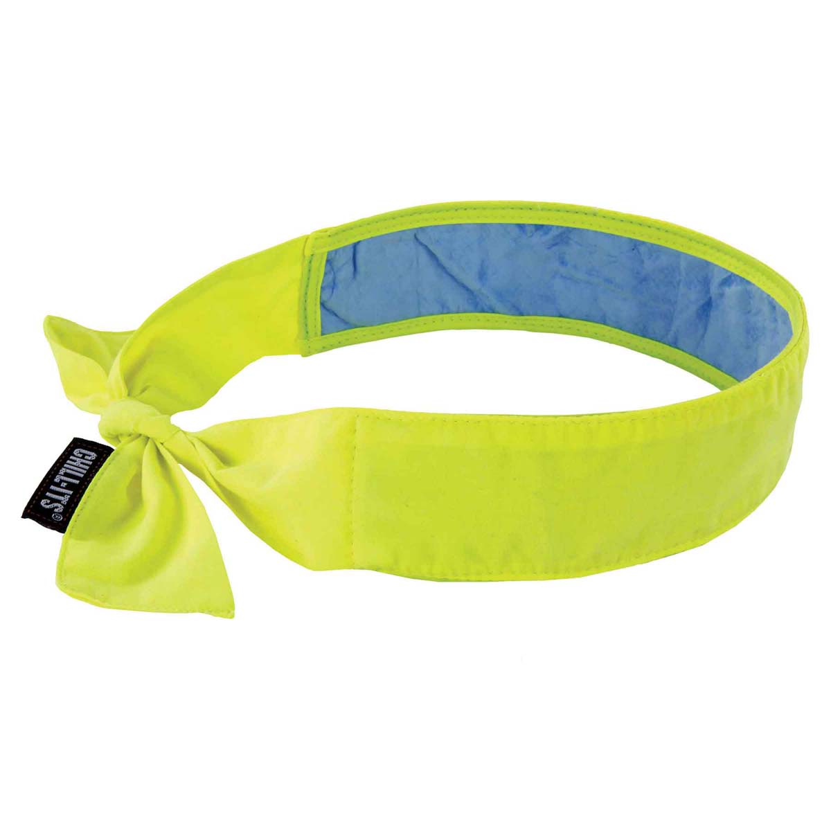 6700CT  Lime Evap. Cooling Bandana w/CT - Tie