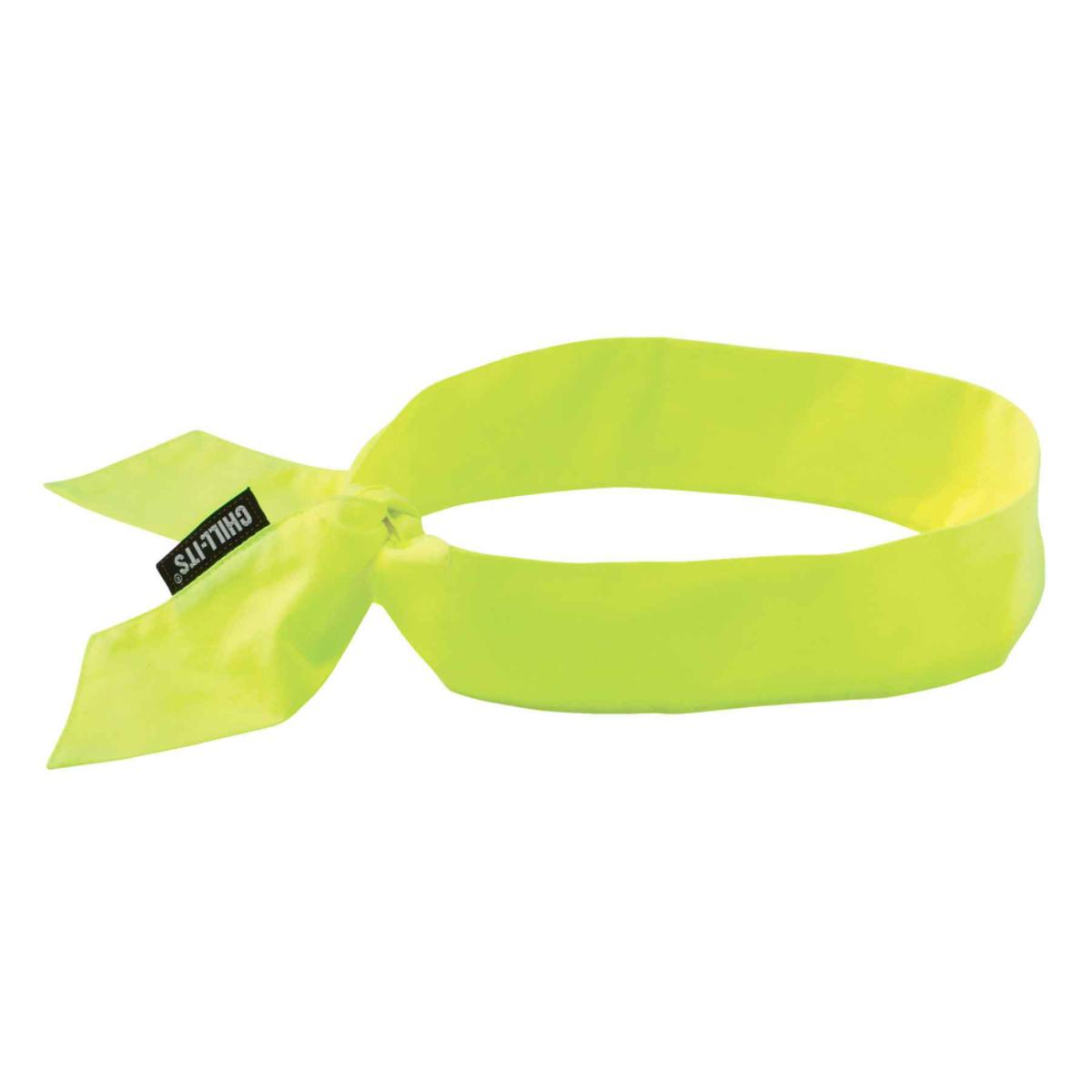 6700  Lime Evaporative Cooling Bandana - Tie