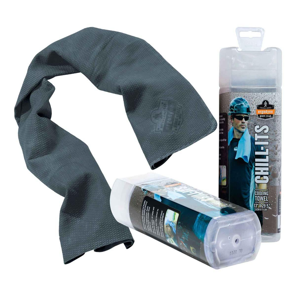 6602  Gray Evaporative Cooling Towel