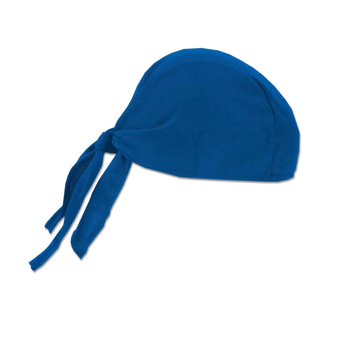 6615  Blue High-Performance Dew Rag