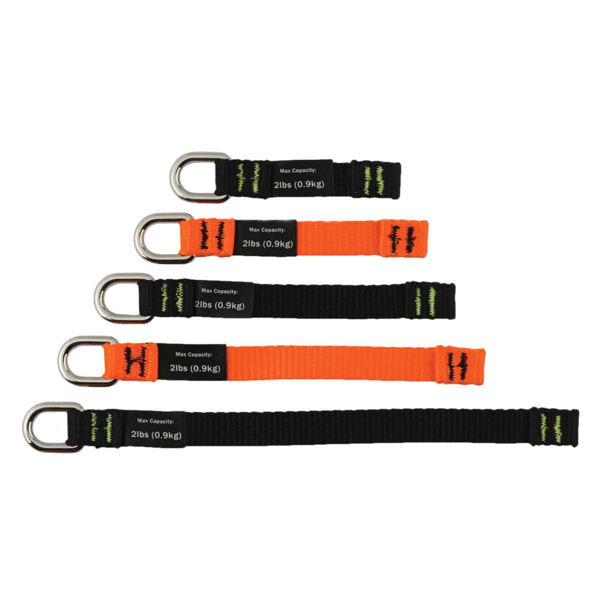 3700 Variety Black & Orange Web Tool Tails - 2lb 6-pack