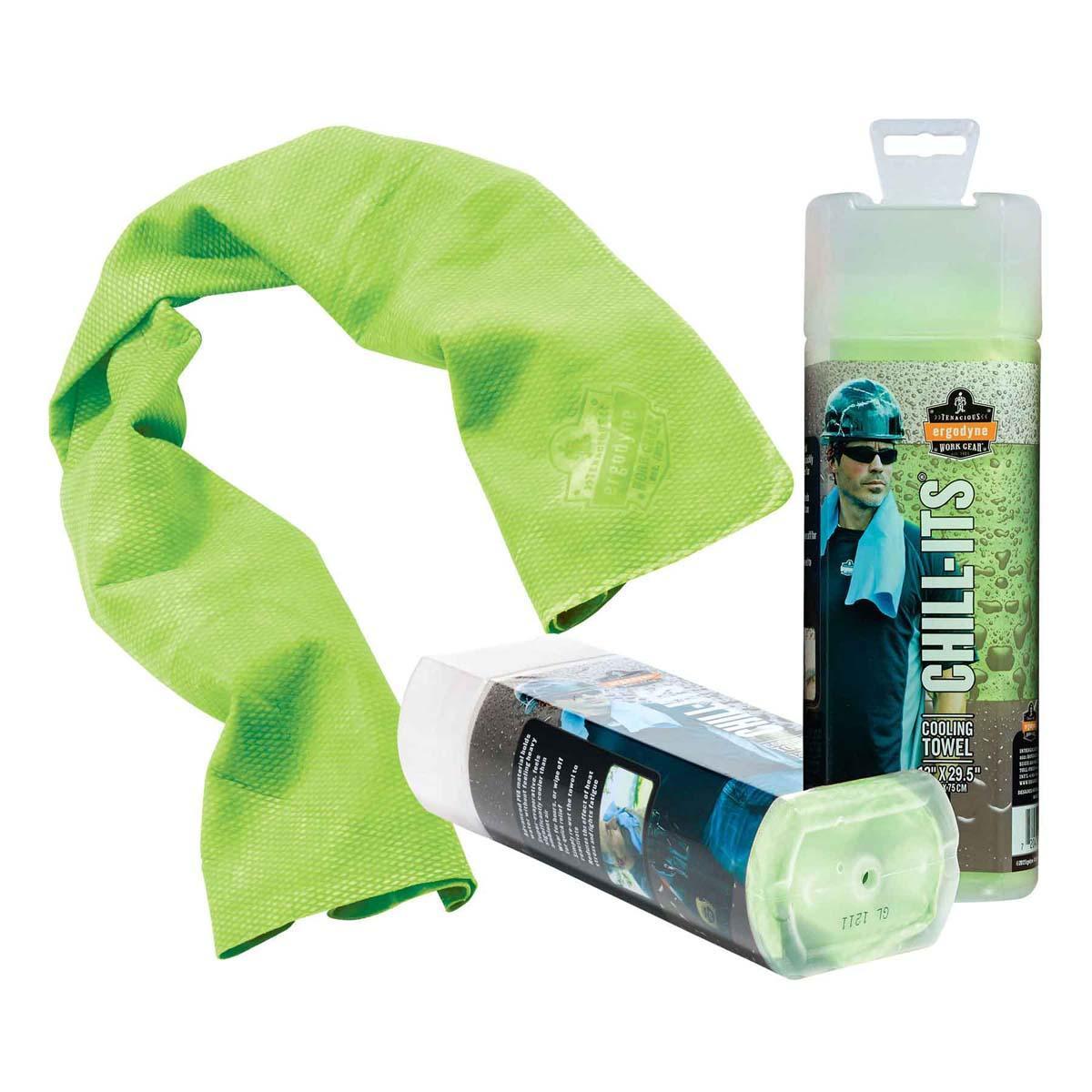 6602  Hi-Vis Lime Evaporative Cooling Towel
