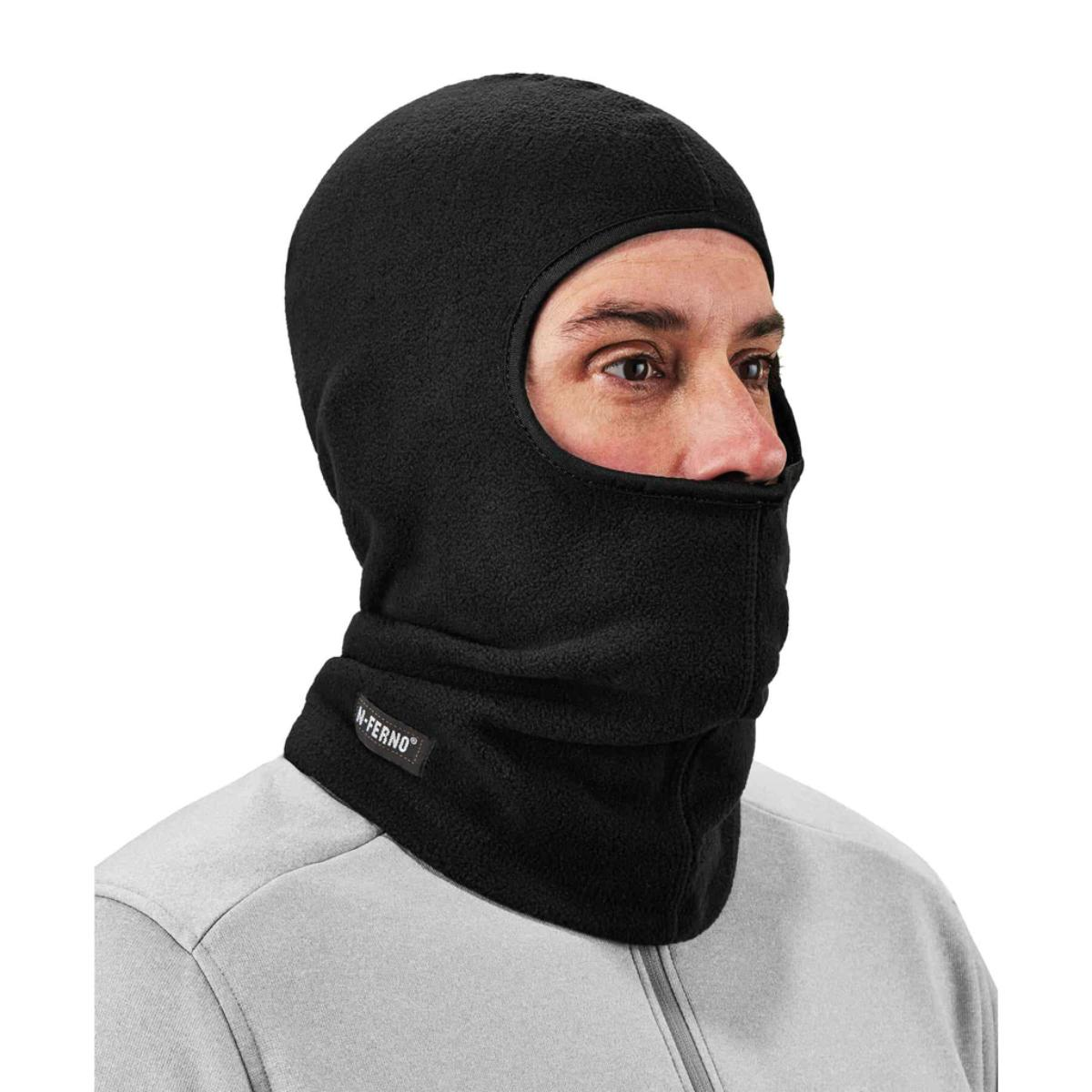 6821  Lime Fleece Balaclava