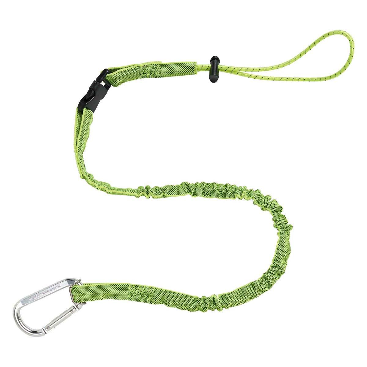 3102 Extended Lime Detachable Single Carabiner-5lb