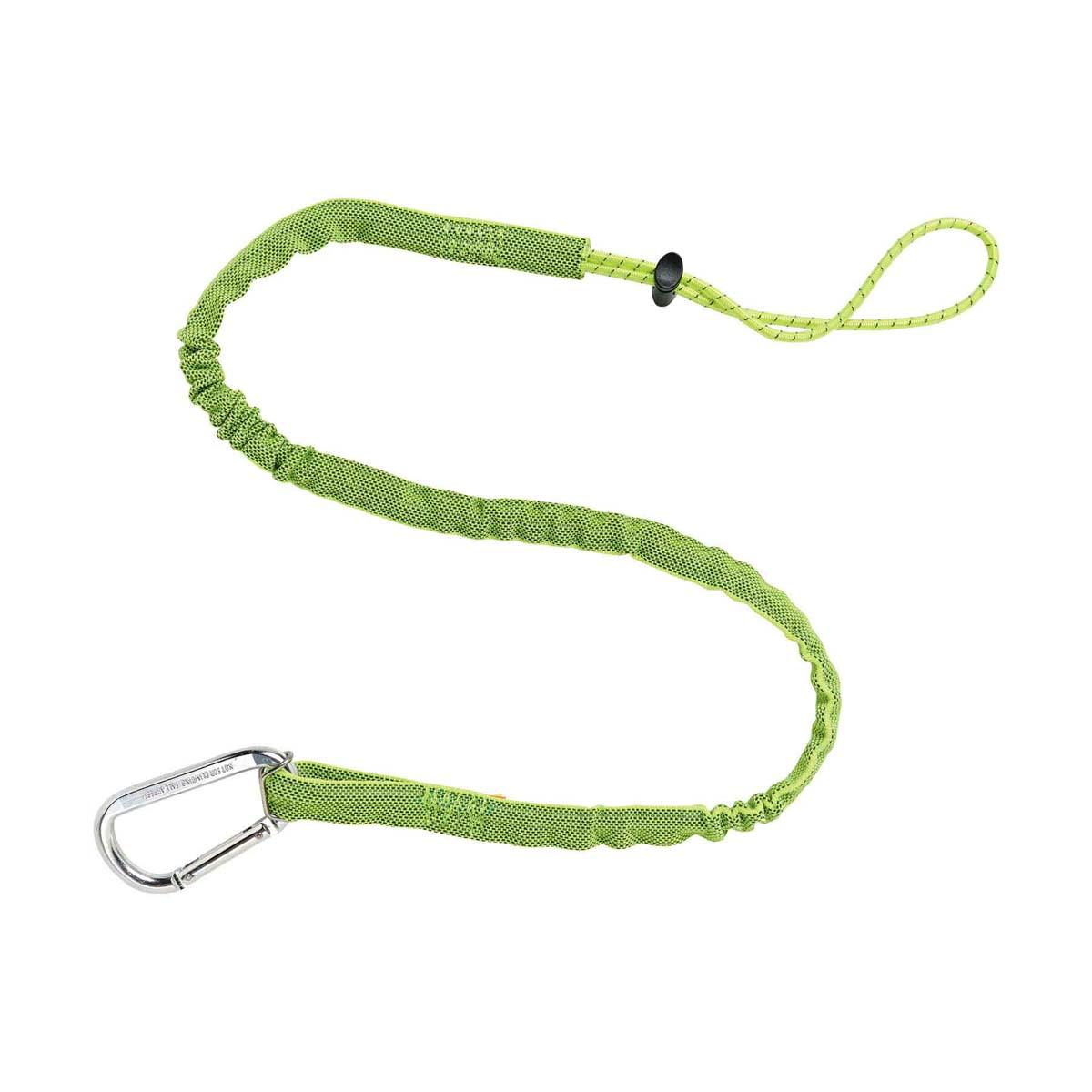 3100 Extended Lime Single Carabiner-10lb