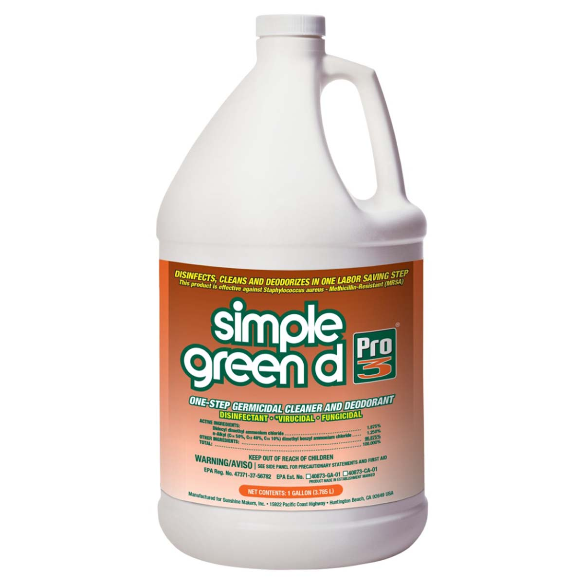 d Pro 3 Disinfectant 1 gal.