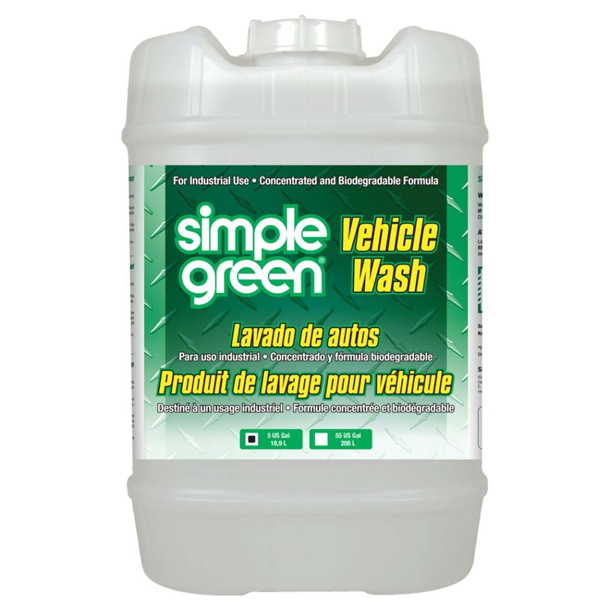 Vehicle Wash 5 gal.