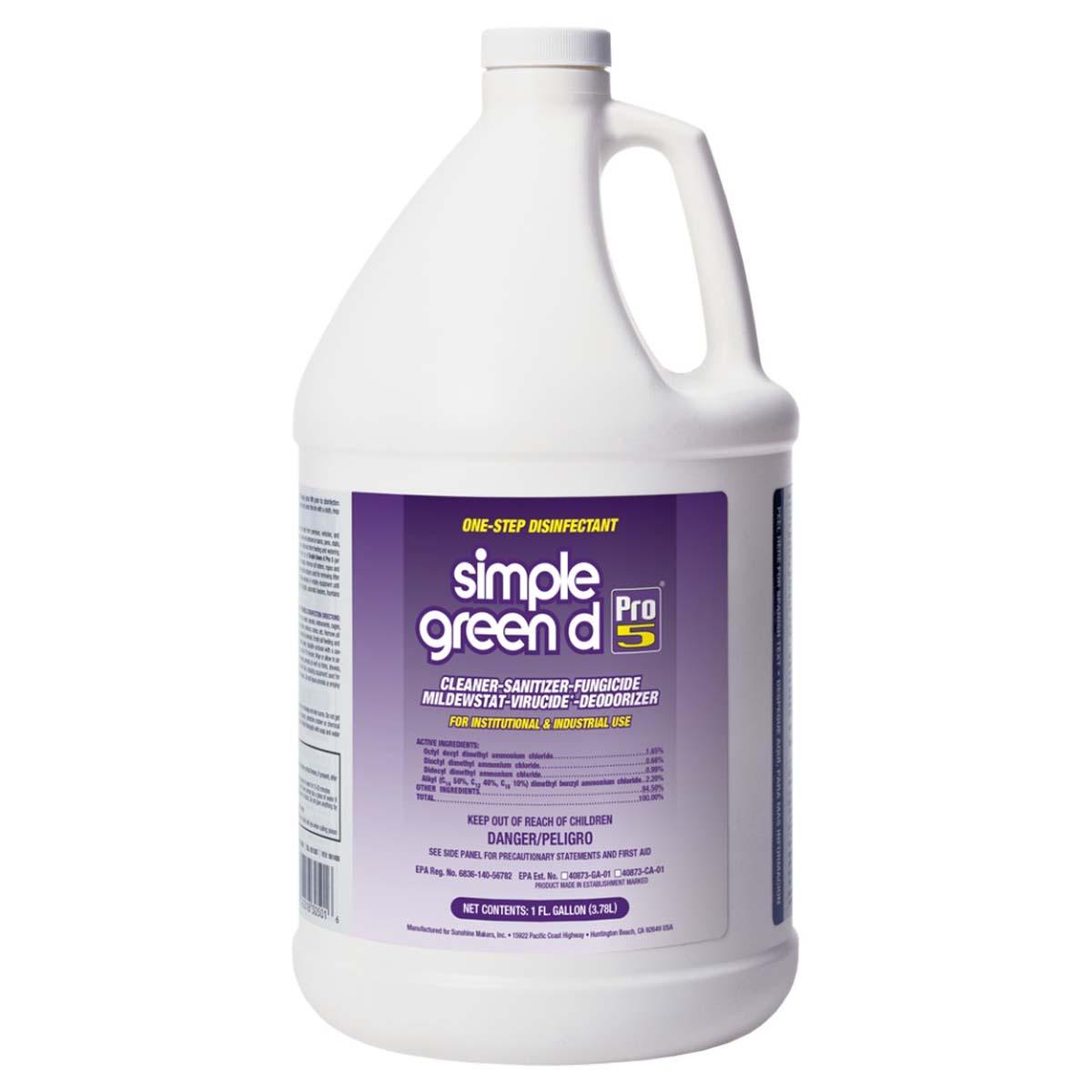 d Pro 5 Disinfectant 1 gal.