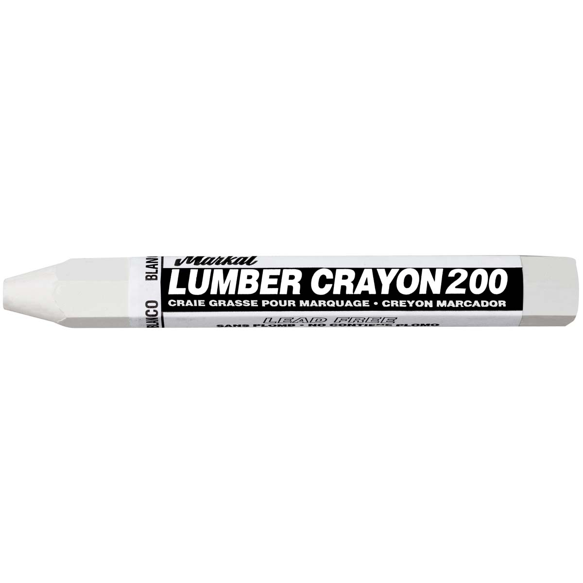 Lumber Crayon 200, White