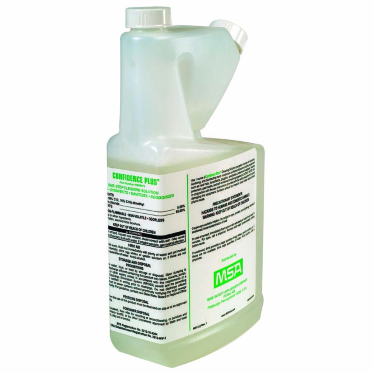 SOLUTION,CONFIDENCE PLUS,CLEANING,32 OZ
