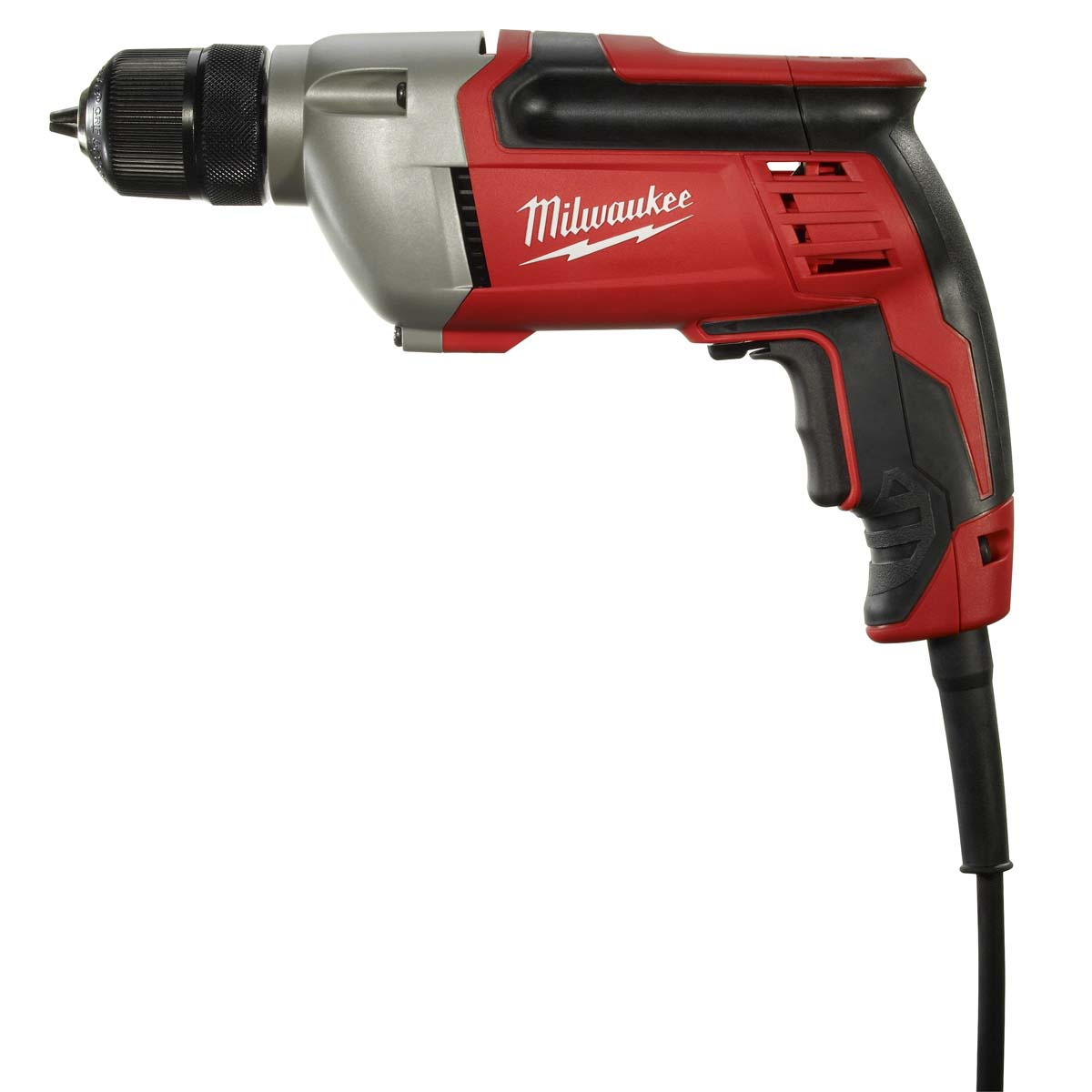 ELECTRIC DRILL, 3/8 IN, 0 TO 2800 RPM, 8.0A