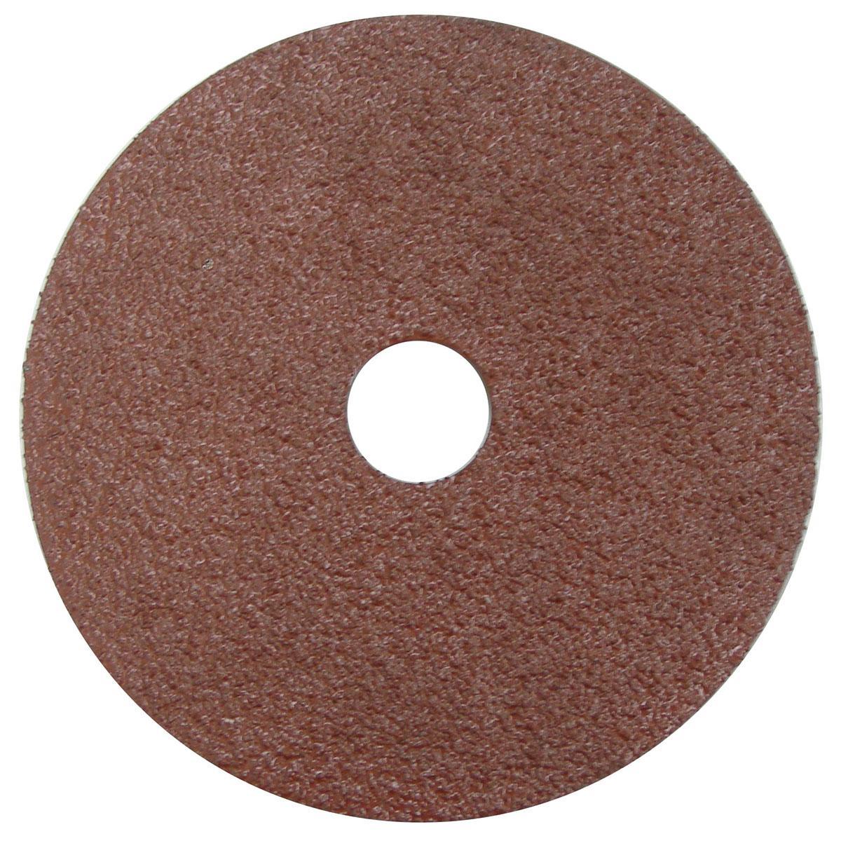 """5"""" Resin Fiber Disc, 36AO, 7/8"""" Arbor Hole - RFD-5 A 36 GRIT"""