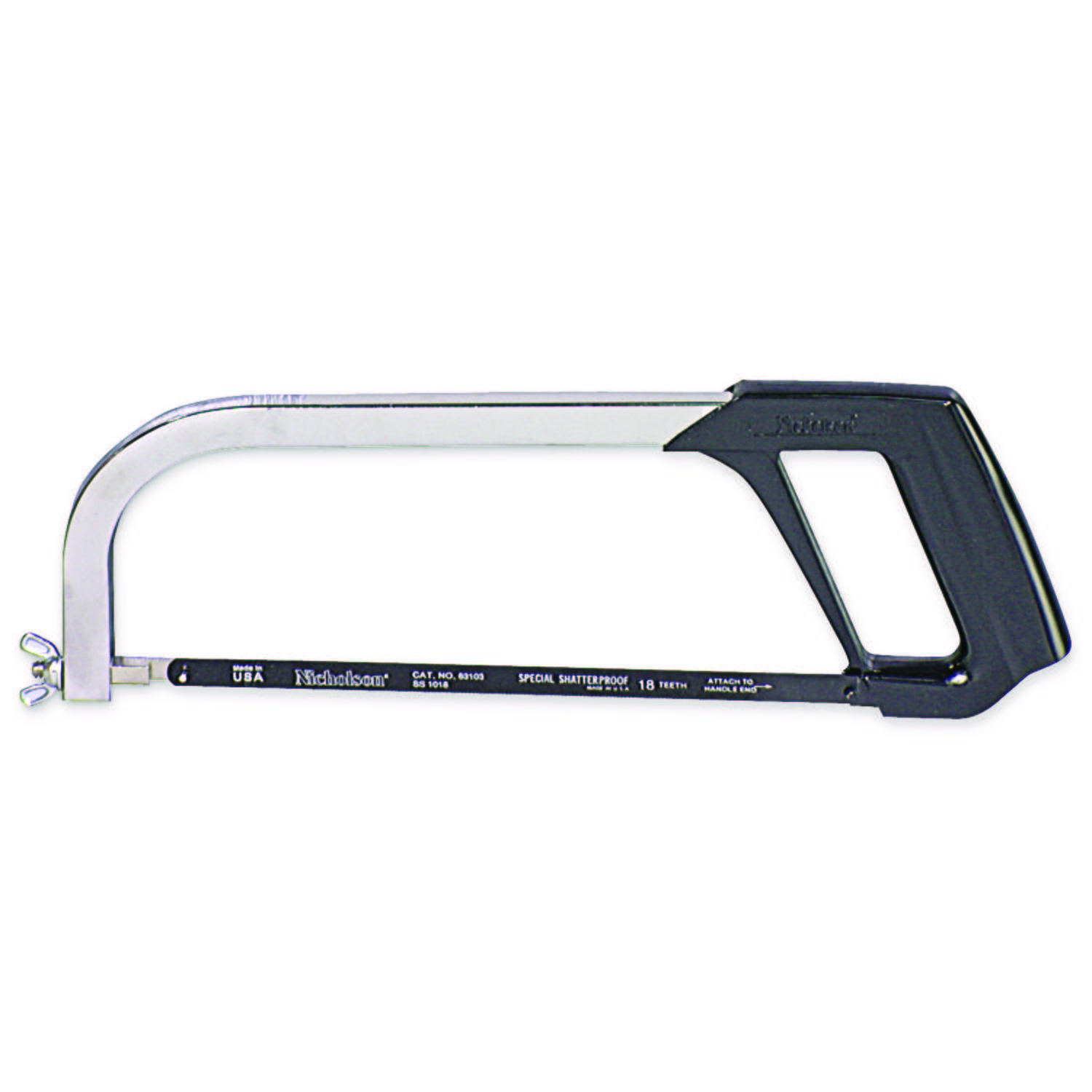 "10"" General Purpose Hacksaw Frame"