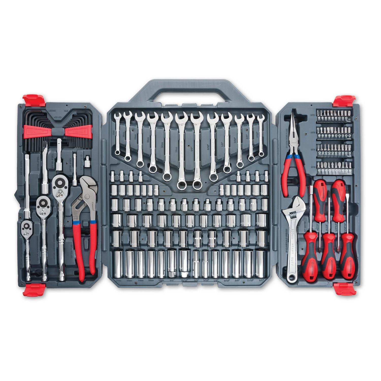 170 Pc. General Purpose Tool Set - Closed Case