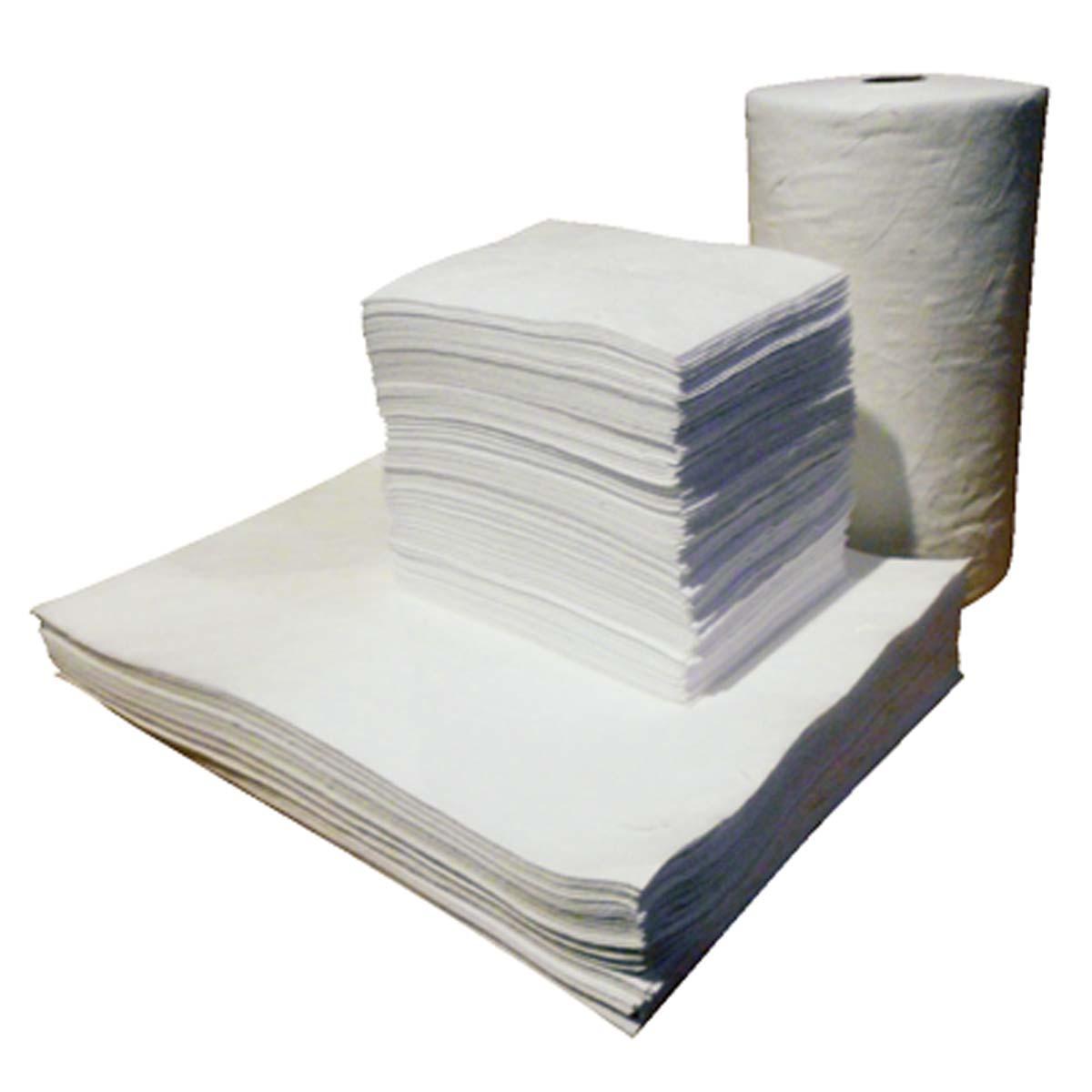 """Standard WhiteMediumweight Pads,15""""x18"""",100/bag"""