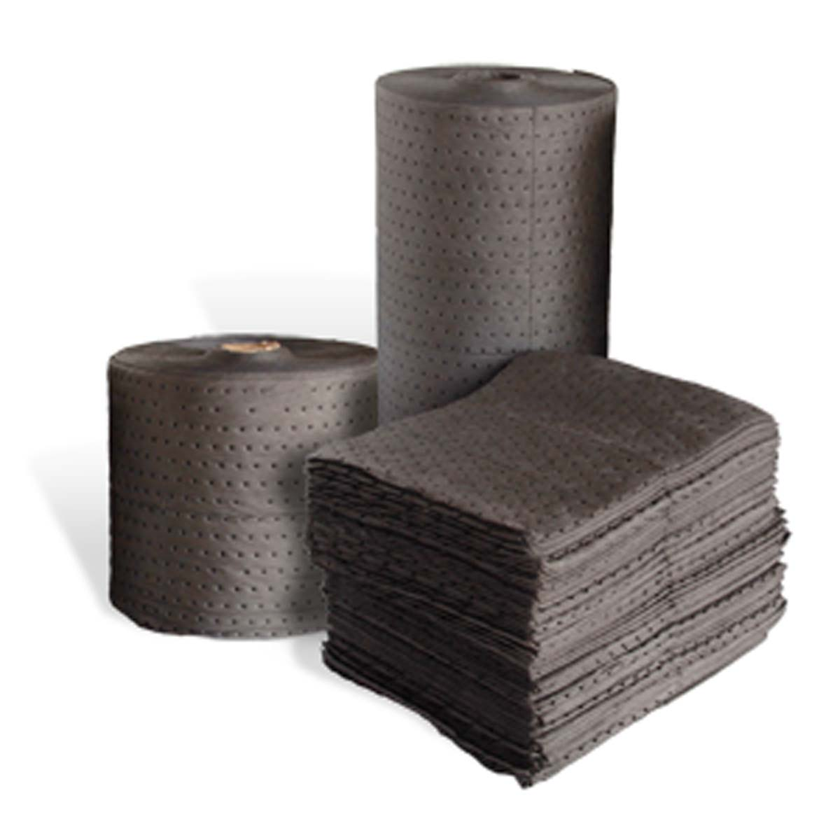 """Gray Dimpled Heavyweight Pads, 15""""x18"""",100/box"""