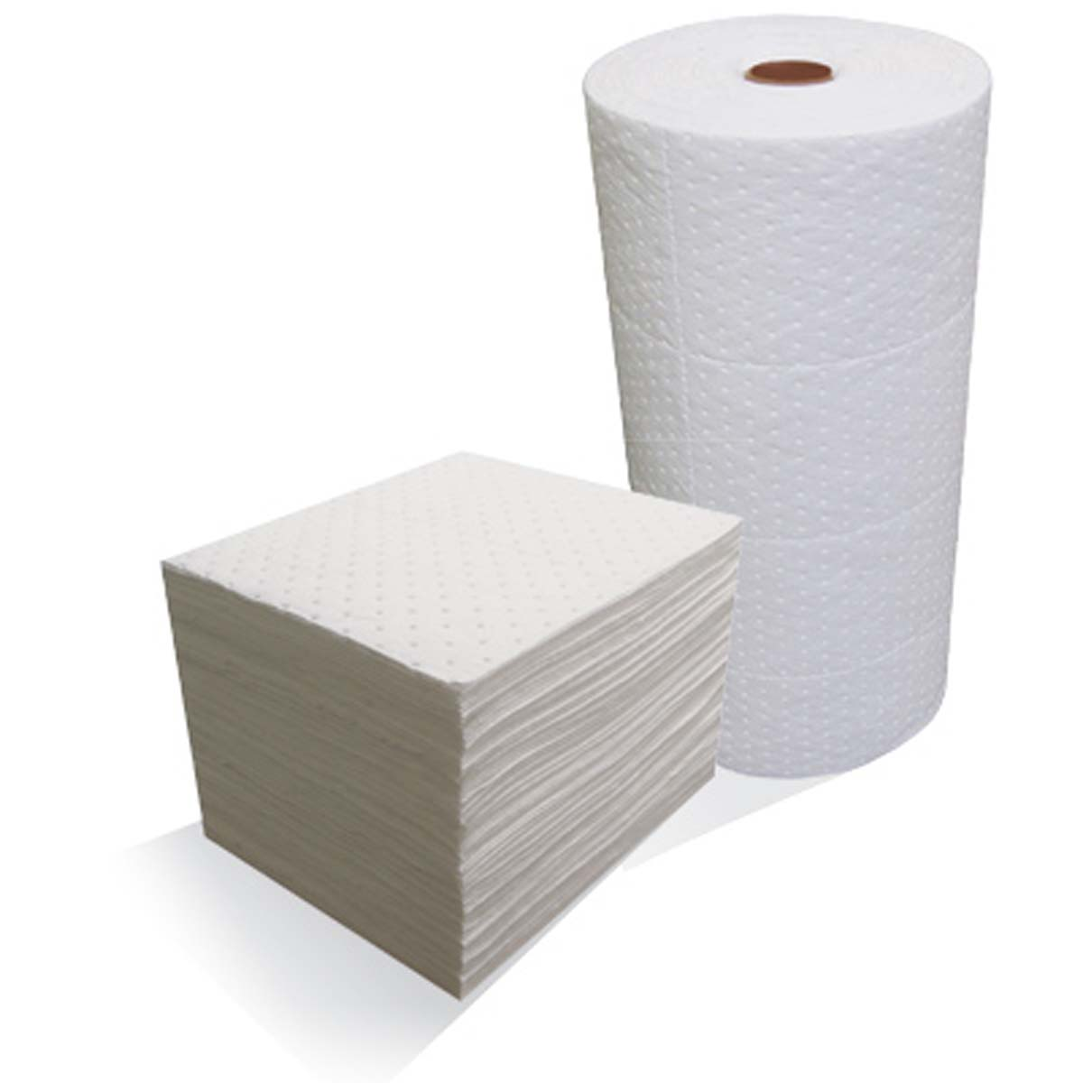 """White Dimpled Lightweight Pads15""""x18"""",100/bag"""