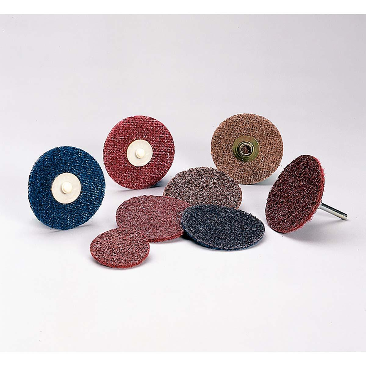 6 in A MED 8 Holes Standard Abrasives Buff and Blend Hook and Loop GP Vacuum Disc 831720